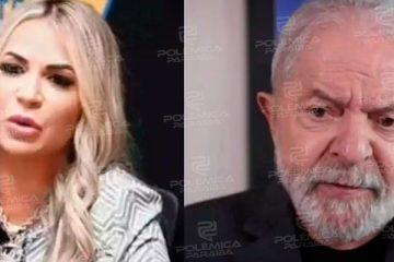 """O PAI QUE EU NUNCA TIVE"": Viúva de MC Kevin compara Lula a Jesus Cristo"
