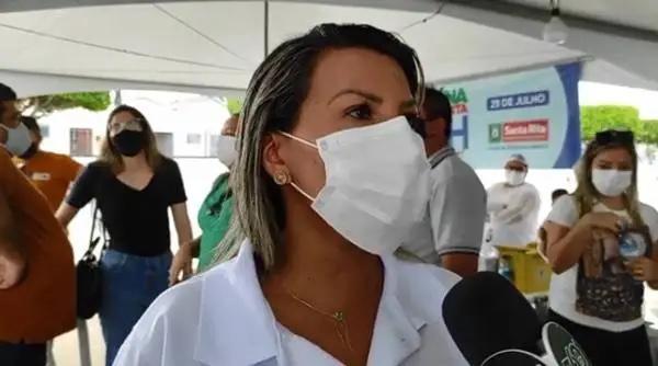 """WhatsApp Image 2021 07 31 at 12.27.40 - Jane Panta destaca ação de vacinação contra a Covid-19 em Santa Rita: """"fizemos história"""""""