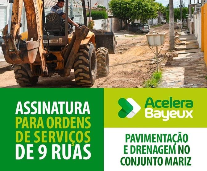 WhatsApp Image 2021 07 31 at 14.51.34 - Prefeita de Bayeux autoriza obras no Conjunto Mariz e garante calçamento de 100% das ruas do bairro