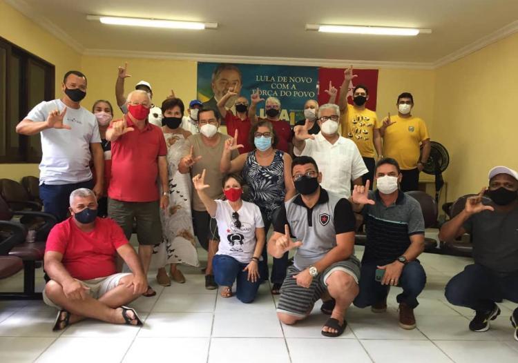 WhatsApp Image 2021 07 31 at 14.58.08 - Reunião do PT Paraíba: Maioria da direção estadual se diz contra filiação de Ricardo Coutinho ao partido