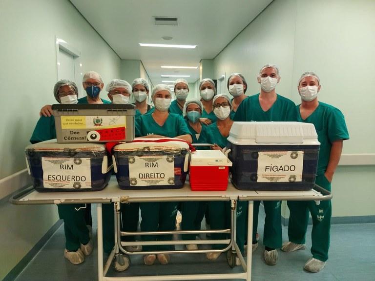 a5130991 5b24 44b9 a932 48bc3b5db580 - Hospital Metropolitano realiza captação de multiórgãos que serão transplantados em paraibanos