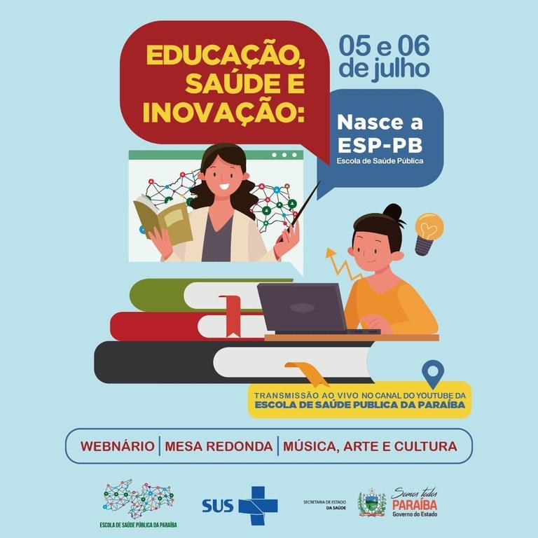 a948fde3 6b48 4d4e a069 624c9cbcfff6 - Governo lança oficialmente Escola de Saúde Pública em evento on-line