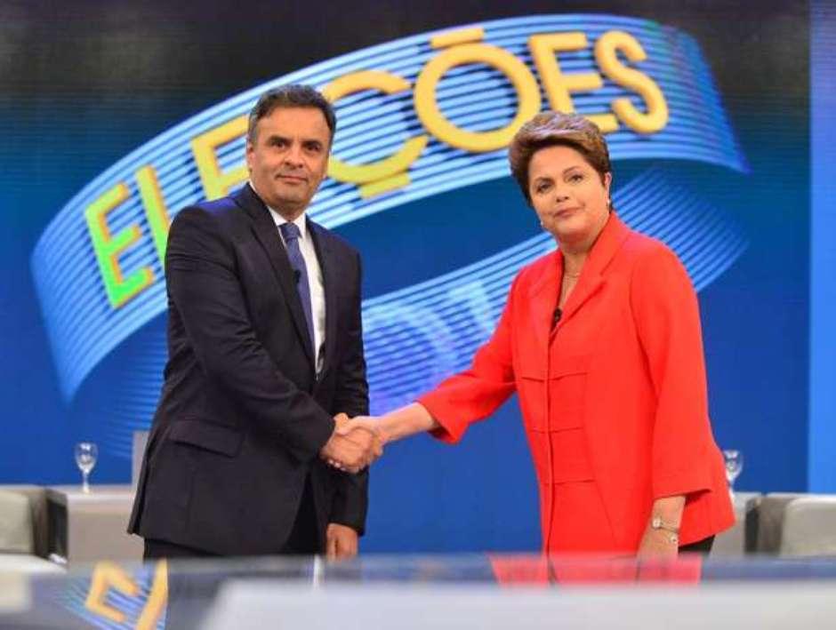 aecio dilma - Bolsonaro promete provar fraude do 2º turno de 2014