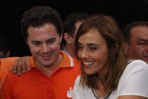 ana claudia e veneziano 868x585 1 300x202 - Veneziano convida lideranças do Podemos para o MDB após mudanças no comando do partido