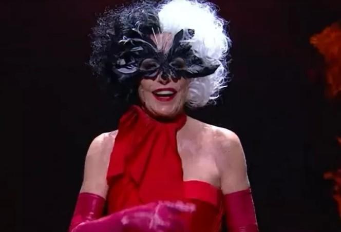 ana - Ana Maria Braga 'entrega tudo' vestida de Cruella na abertura do Mais Você