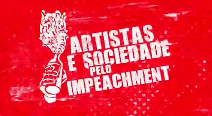"""artistas - """"Desgoverno"""": Artistas gravam música pelo impeachment de Bolsonaro - VEJA VÍDEO"""