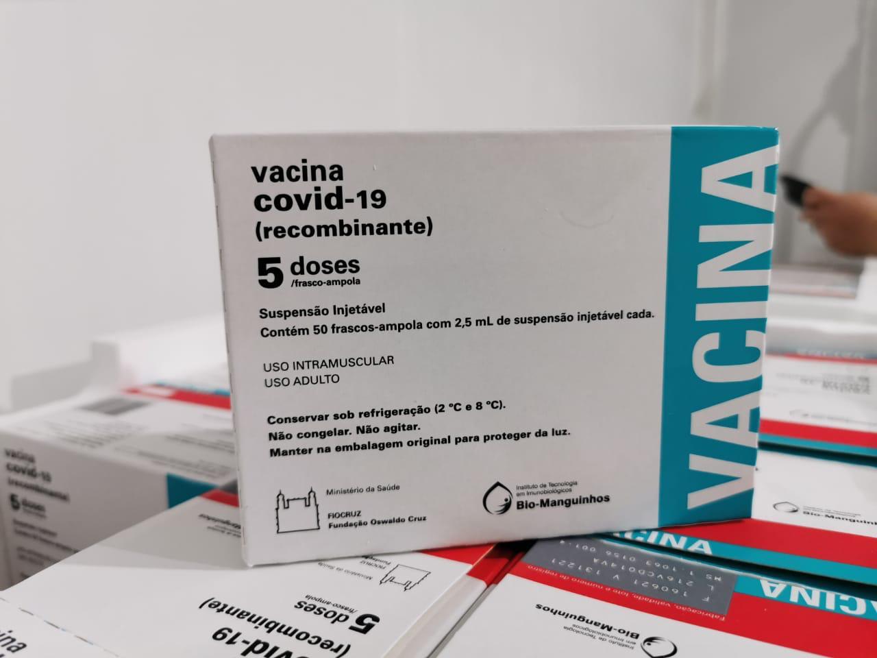 astrazeneca - Paraíba receberá mais de 165 mil doses de vacinas contra a Covid-19 nesta semana