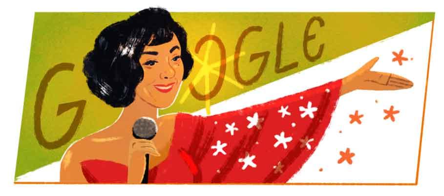 b 3 - Google Doodle celebra o 101º aniversário da cantora brasileira Elizeth Cardoso