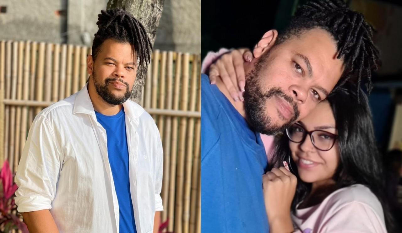 babu santana nova namorada livia maria - Nova namorada de Babu Santana é 20 anos mais nova que ator e torcia por ele no BBB