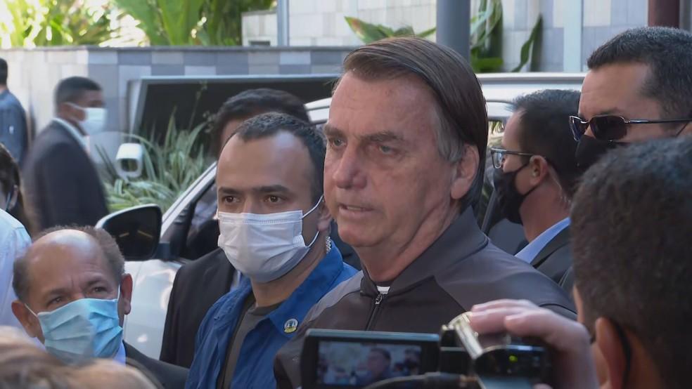 bolso 1 - Bolsonaro recebe alta médica após 4 dias internado - VEJA VÍDEO