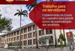Bosco Carneiro solicita recursos para investimentos na Escola do Legislativo