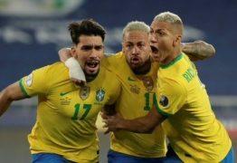 Com um a menos, Brasil bate Chile e vai à semifinal da Copa América