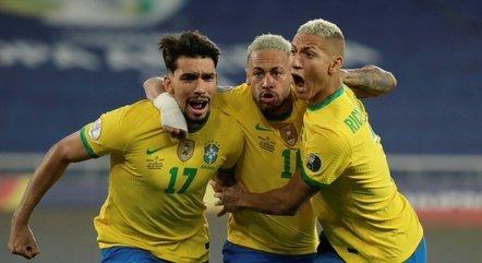 brasil 02072021224236796 - Com um a menos, Brasil bate Chile e vai à semifinal da Copa América