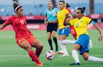 Brasil perde nos pênaltis para o Canadá e é eliminado no futebol feminino