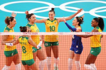 Brasil vence a Coreia na estreia do vôlei feminino em Tóquio