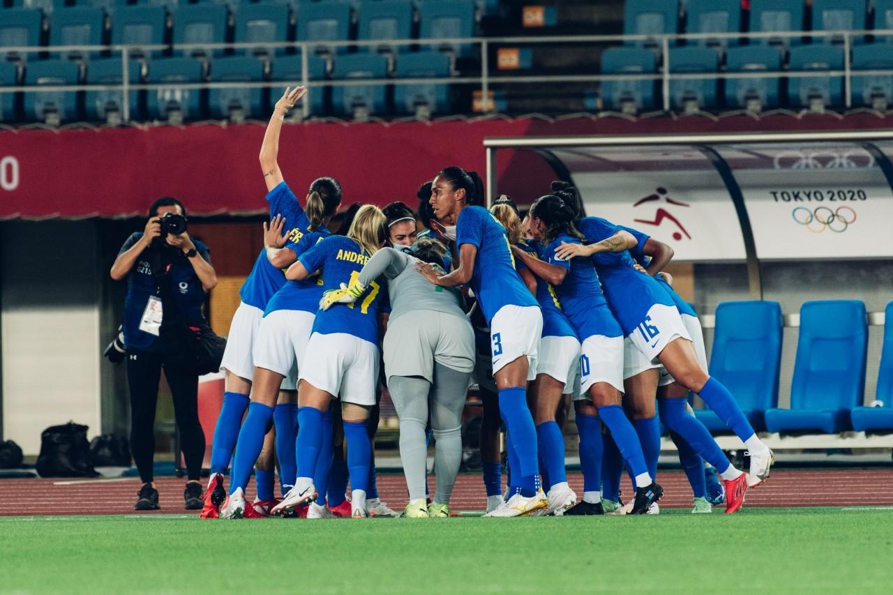 brasil x zambia - Brasil 1 x 0 Zâmbia: Seleção feminina vence e vai enfrentar o Canadá nas quartas de final