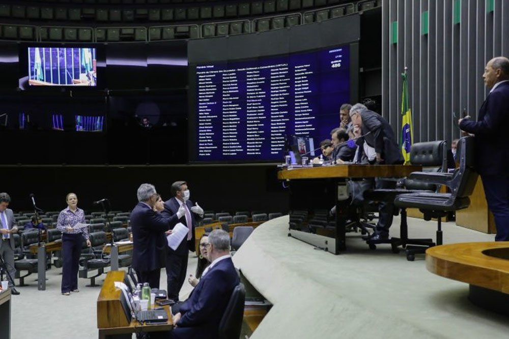 camara deputados - 88 DEPUTADOS: Tentativa de barrar fundão eleitoral turbinado reuniu apenas cinco partidos