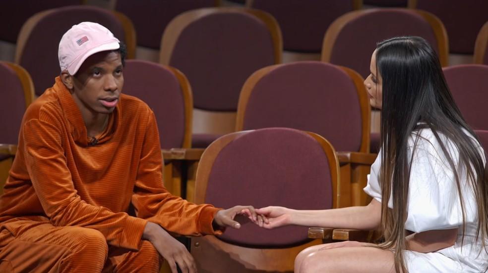 captura de tela 2021 07 13 111855 - Juliette se declara a Lucas em doc no Globoplay: 'Quando tentavam te machucar, me machucavam também'