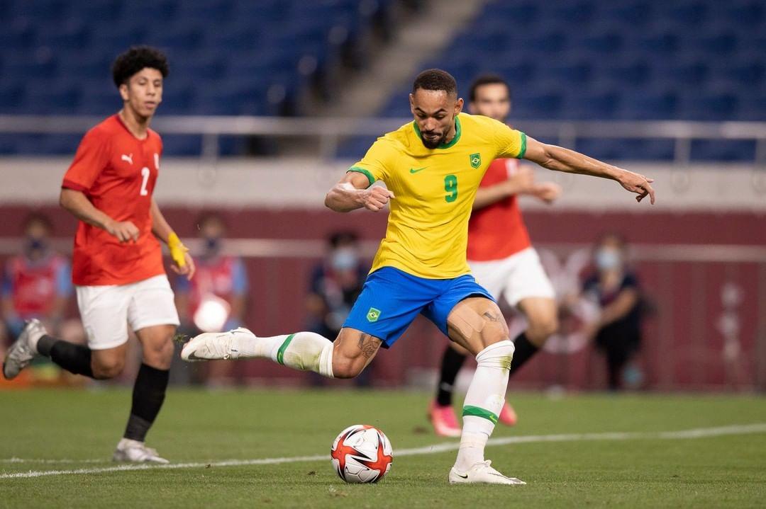 cbf futebol 228807418 2913225322278349 4765862587355624699 n - Com gol do paraibano Matheus Cunha, Brasil vence o Egito e se classifica à semi das Olimpíadas