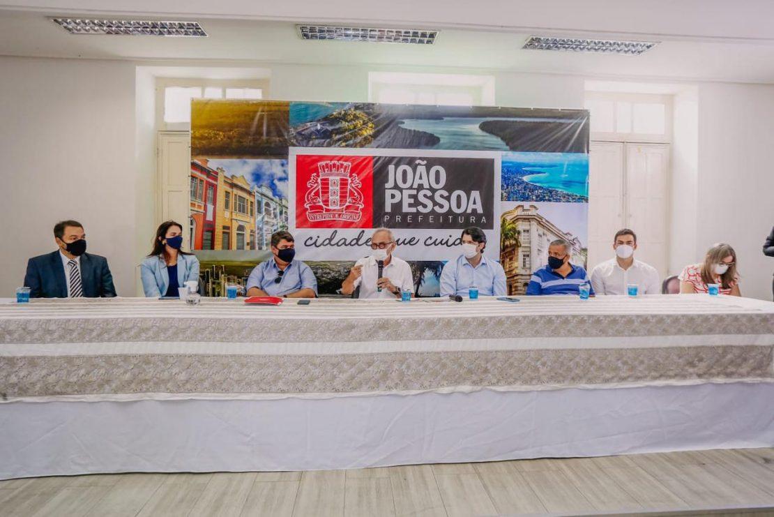 convenio com botafogo 1110x741 1 - CONVÊNIO: Prefeitura de João Pessoa patrocinará o Botafogo e clube vai apoiar projetos sociais