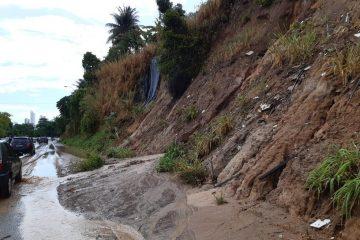 Defesa Civil monitora barreiras da Capital para prevenir acidentes