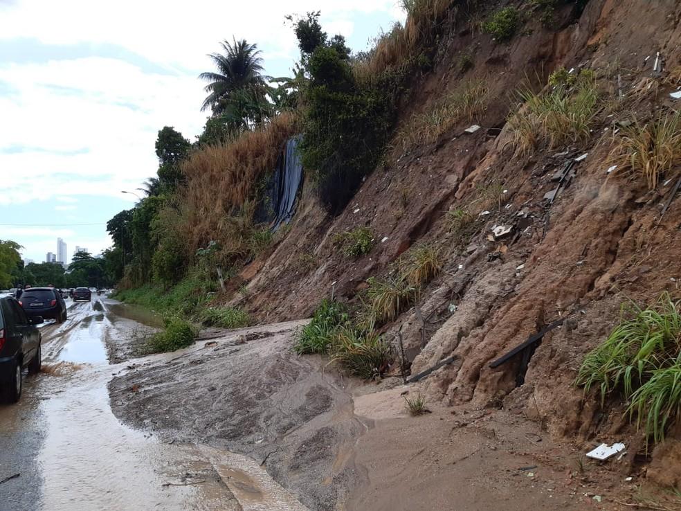 delizamento br230 - Defesa Civil monitora barreiras da Capital para prevenir acidentes