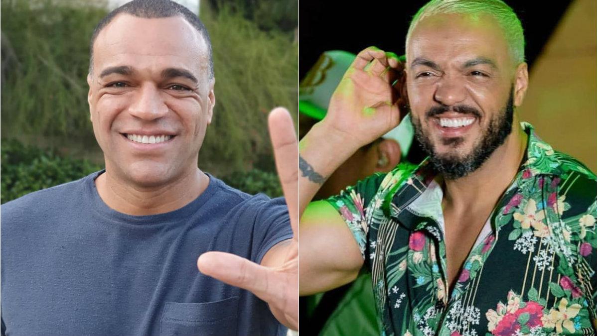 denilson e belo - Devendo 5 milhões ao ex-jogador Denilson, cantor Belo faz shows sem receber cachê para quitar valor