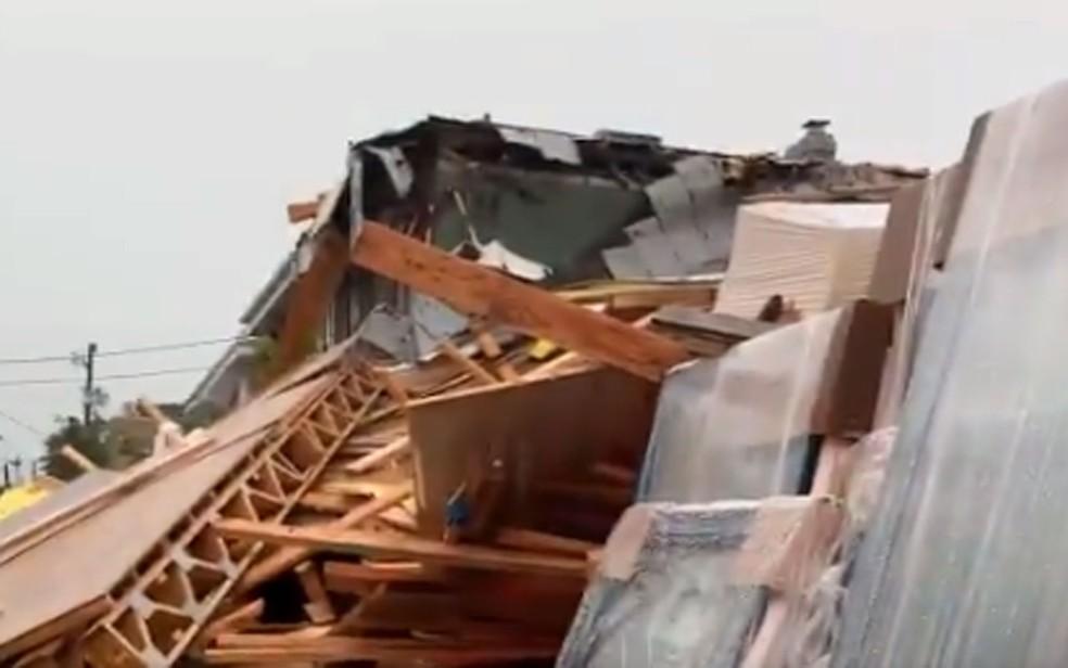 desabamento em Washington DC - Prédio em construção desaba em Washington nos EUA, e deixa cinco pessoas feridas