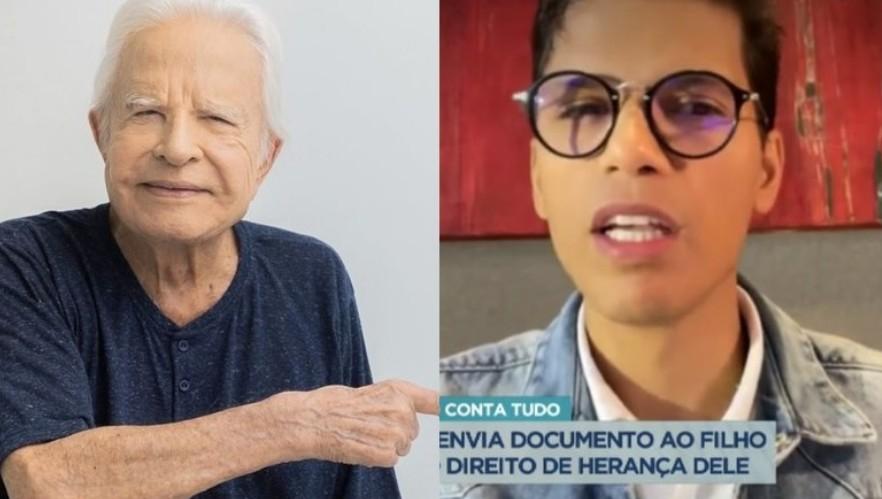 deserd - 'Foi um engano te adotar', diz Cid Moreira em mensagem para o filho 'deserdado'