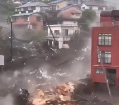 deslizamento - TRAGÉDIA! Deslizamento no Japão deixa mortos e desaparecidos - VEJA VÍDEO