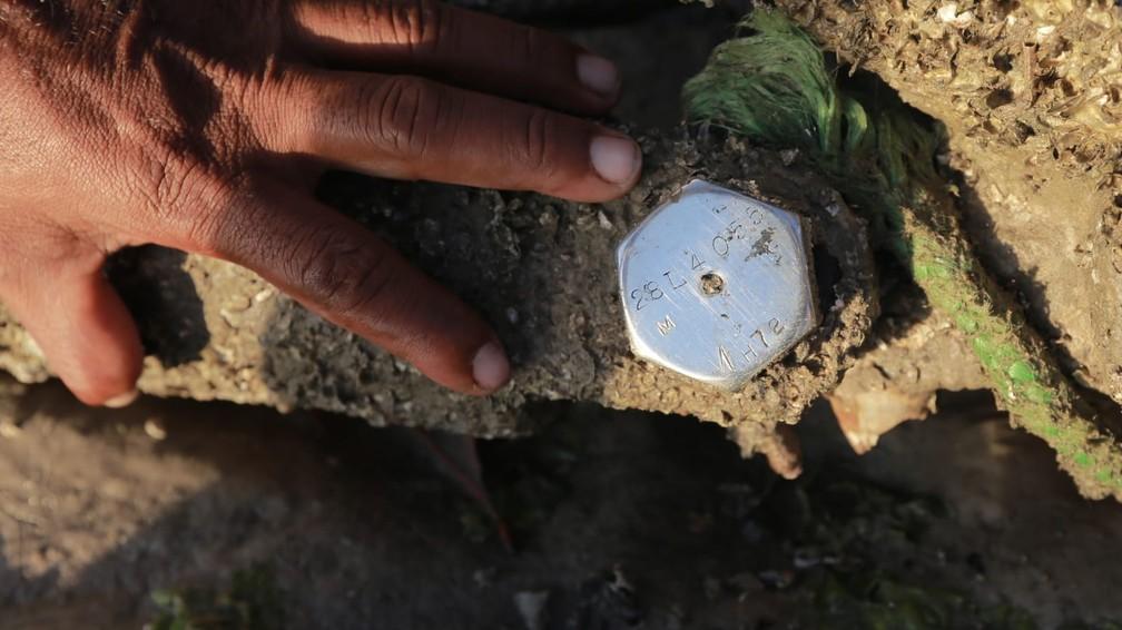 destrocos 2 - Destroços de avião americano da Segunda Guerra Mundial são encontrados em litoral brasileiro