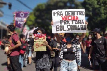 MANIFESTAÇÕES NA PARAÍBA: Ato Fora Bolsonaro tem início em João Pessoa; VEJA VÍDEO
