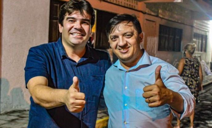 edu - Eduardo Carneiro recebe apoio do 1º suplente de vereador Rinaldo Maranhão e fortalece base em JP
