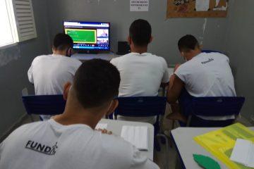 Fundac inscreve 67 socioeducandos no Encceja PPL e candidatos são preparados para o exame