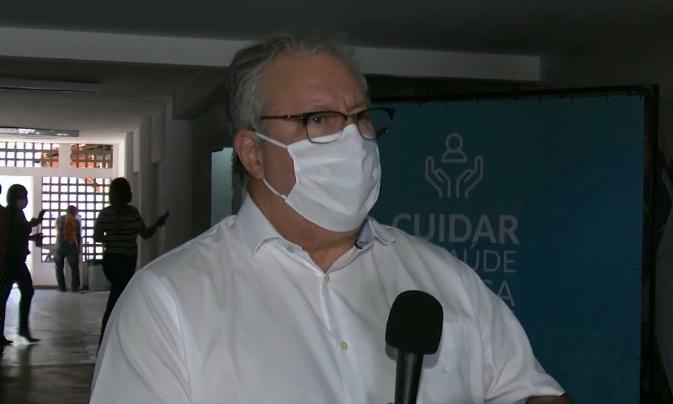 """fabio rocha - Fábio Rocha diz que JP deve iniciar vacinação contra a Covid-19 para adolescentes nesta quinta e fala sobre público em amistoso da seleção: """"Depende da CBF"""""""