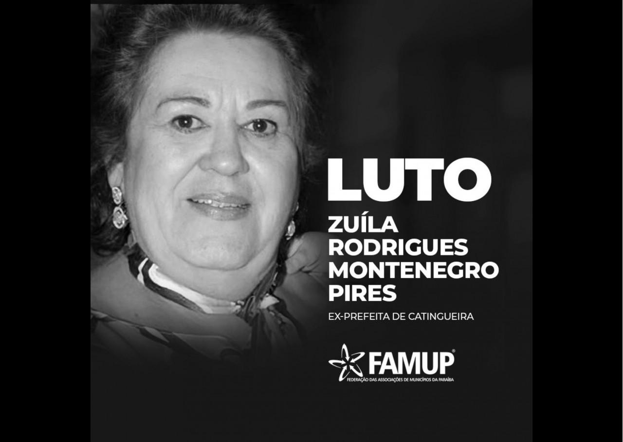 ff35d10f fa0a 5b5f 93d3 248d4218eaab - Famup lamenta morte da ex-prefeita de Catingueira Zuíla Rodrigues Montenegro