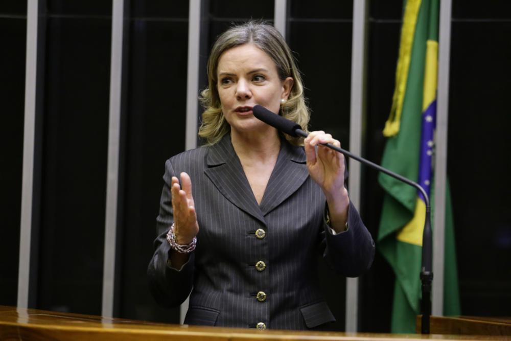 gleisi hoffmann - Gleisi Hoffmann aparece como 'morta' em cadastro do SUS e com apelido de 'Bolsonaro'