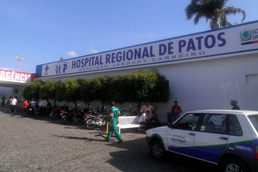 hospital regional de patos - AVANÇO NA IMUNIZAÇÃO: Patos não registra mortes por covid-19 há uma semana