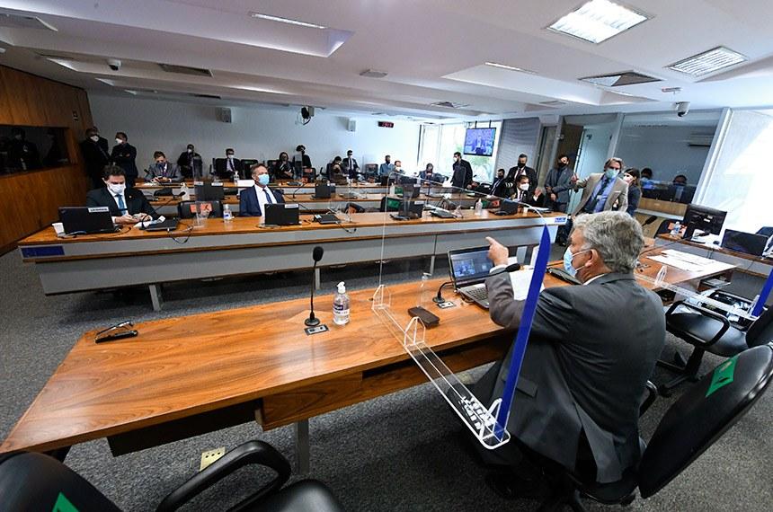 imagem materia - Nome ligado a Aguinaldo: Bolsonaro retira indicação para ANS, mas comissão do Senado aprova candidato