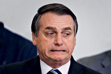 'Se eu perder o apoio popular, acabou', diz Bolsonaro a apoiadores