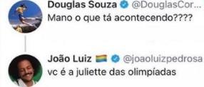 joao - ANTIBOLSONARISTA E GAY: Atleta do vôlei nas Olimpíadas viraliza na web, conheça Douglas Souza o novo 'Juliette do Brasil' - VEJA VÍDEO