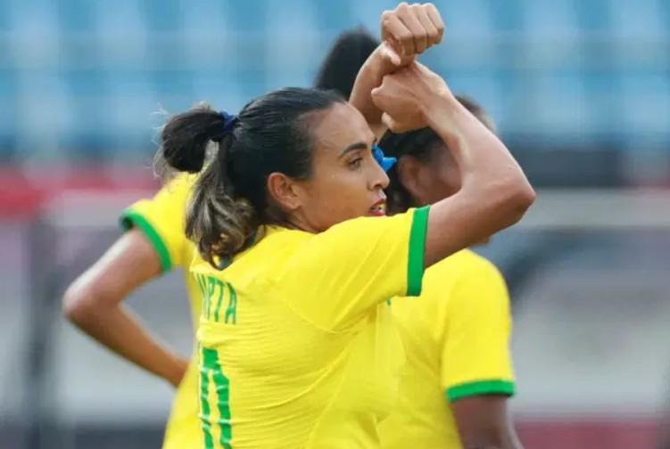 jogaa - Goleada do esquadrão de Marta no Japão alavanca audiência da Globo