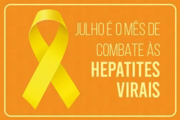julhor amarelo - Prefeitura de Conde realiza mutirão de vacinação e testagem contra hepatites virais