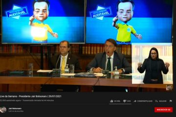 TSE desmente alegações de Bolsonaro sobre urna eletrônica em live