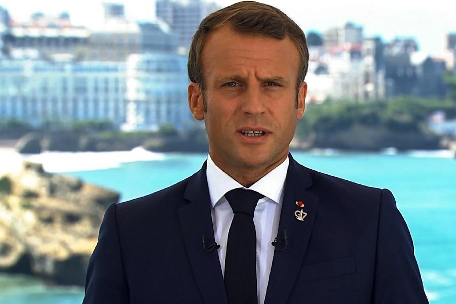 macron g7 cupula 1 - França autoriza entrada de turistas totalmente imunizados contra Covid-19