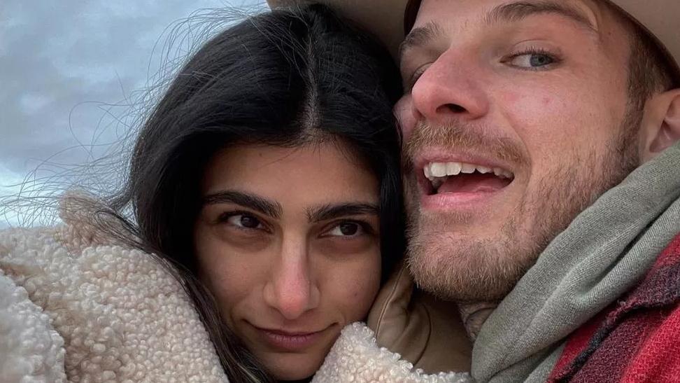 mia khalifa e noivo - Ex-atriz pornô Mia Khalifa anuncia fim de noivado