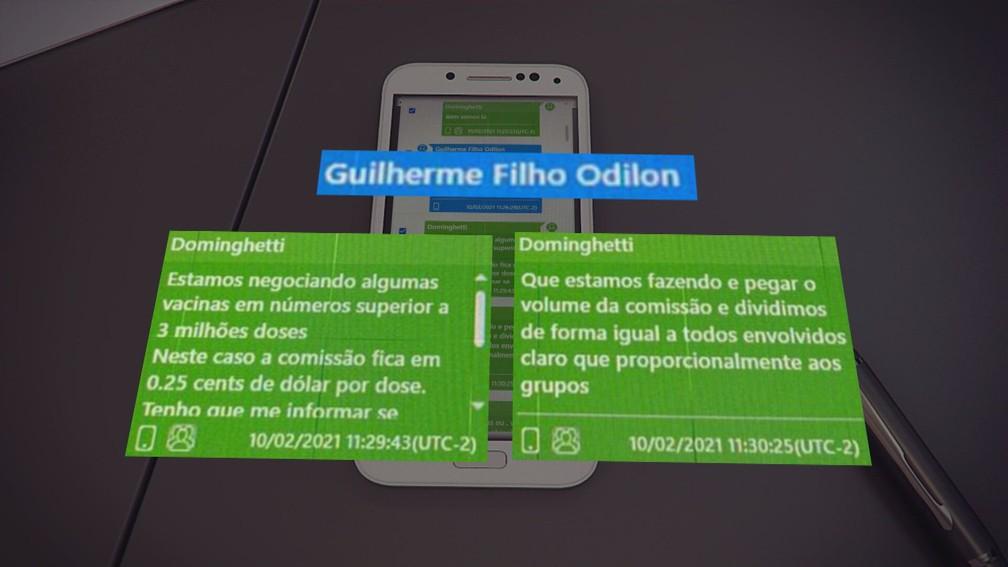 microsoftteams image 5  - Mensagens de celular indicam que Dominguetti negociava comissão de 25 centavos de dólar por dose de vacina