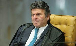 "ministro Luiz Fux Foto Carlos Moura SCO STF 300x180 - Com impasse no Senado, Fux diz ser importante que STF ""esteja completo"""