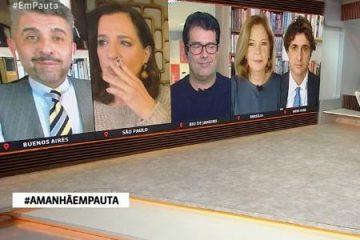 Que gafe: jornalista da GloboNews é flagrada fumando ao vivo durante jornal