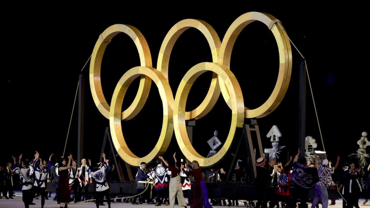 naom 60fabf4b62168 scaled - Manifestantes fazem protesto em Tóquio na abertura das Olimpíadas